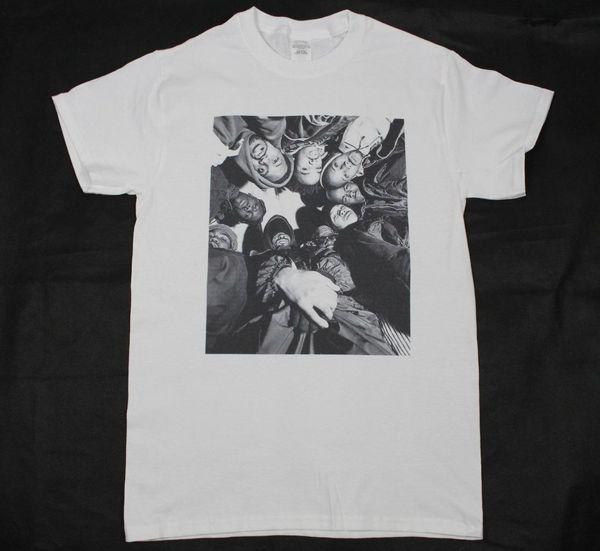 T-shirt blanc Wu-Tang Clan Funny free shipping cadeau unisexe et occasionnel