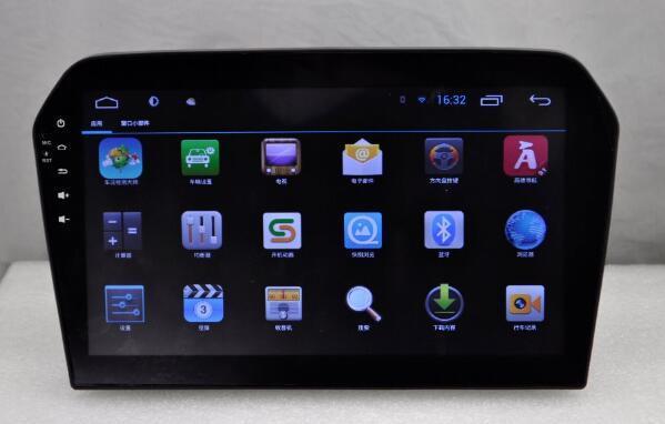 10.2 inch Android 6.0 Car Dvd Gps Navi Audio for VOLKSWAGEN Jetta 2013 1024*600 OBD1GB Wifi 3G support Original Steering wheel