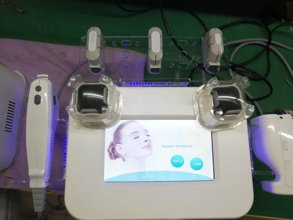 2018 hifu portátil de alta intensidad enfocado por ultrasonidos liposonix máquina para quemar grasa hifu eliminación de arrugas anti-envejecimiento equipo de belleza facial