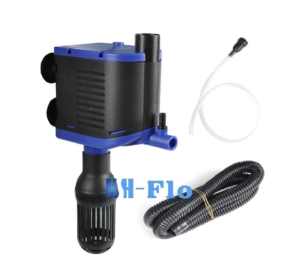 High Efficiency 2.5W Aquarium Pump Fish Tank Pond Pool Internal Filter Water Pump 220V With 350L/H Flow Max