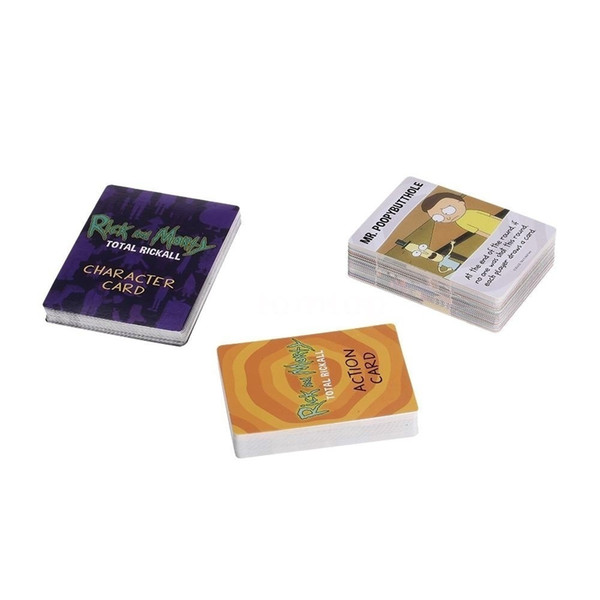 Rick and Morty Total Rickall Cooperative Card Game Party Play Cards