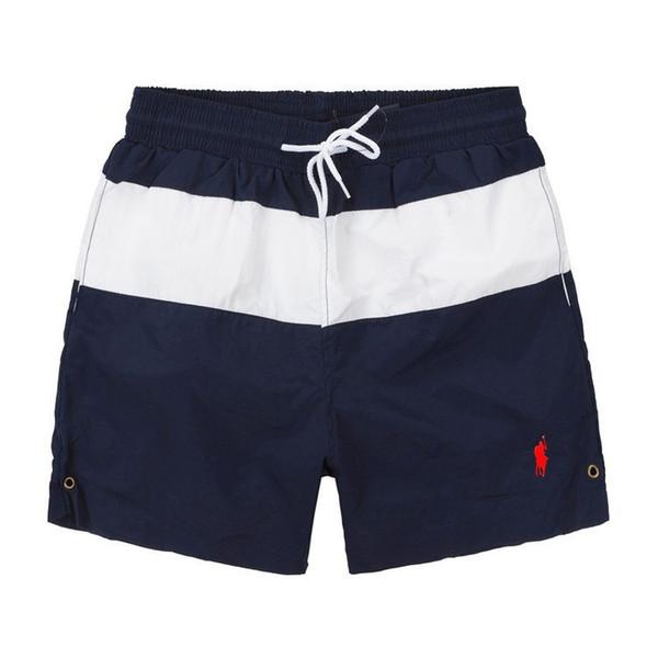 2019 Sommer Badebekleidung Strandhosen Mens Board Shorts Schwarz Männer Surf Shorts Kleine Pferd Badehose Sport Shorts de bain homme M-2XL Hot