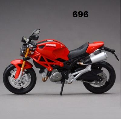 1:12 Children's Toy Simulation of popular Motorcycle Model Wholesale of Alloy Motorcycle pendulum
