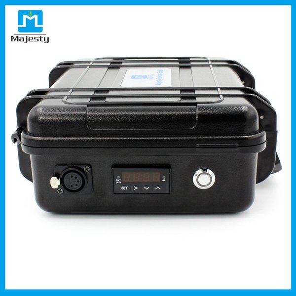 2018 New arrival USA and EU market Majesty Pelican Case Dnail Temperature Controller Box with enail box and ti nail DHL free shipping