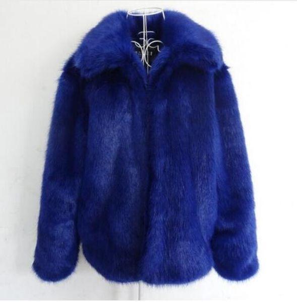Outono inverno engrossar quente casacos de pele do falso dos homens jaqueta de couro fino guaxinim casacos de pele homens jaqueta de couro plus size S-5XL