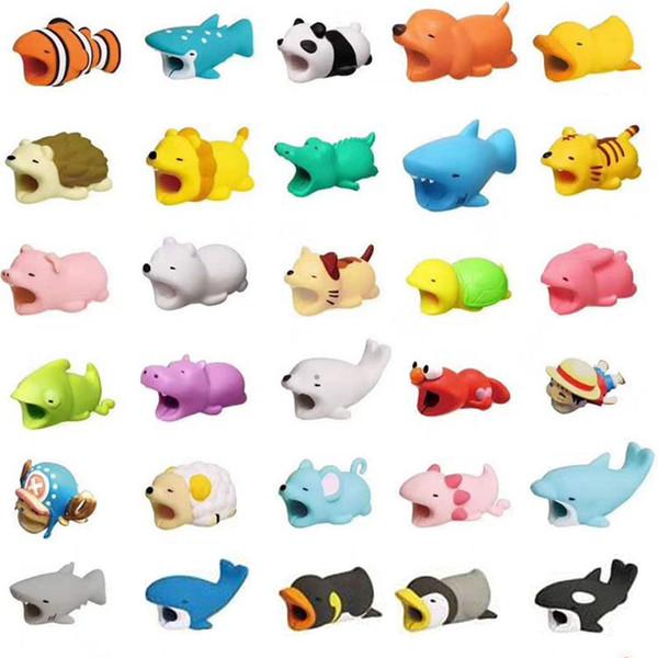 Kabelbiss-Ladegerät Kabelschutz Savor Cover für iPhone Lightning Cute Animal Design Ladekabel Schutzhülle mit Kleinkasten