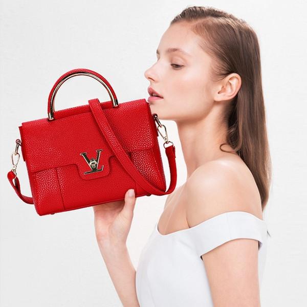 e416a73d587 Shoulder Flap V Women'S Luxury Leather Clutch Bag Lady Handbags Brand  Female Messenger Bags Sac A Main Femme Famous Tote Bag Freya SafiTotes  Purses ...