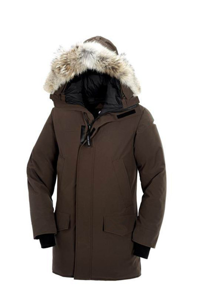 Canadian Winter Fourrure Down Parka Homme Jassen Chaquetas Outerwear Big Fur Hooded Fourrure Manteau Canada Down Jacket Coat Hiver Doudoune