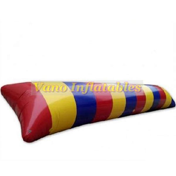 9x3m Water Game Inflatable Water Blob 0.9mm PVC Aqua Blob Jump Pillow Catapult for Sale Free Shipping Free Pump