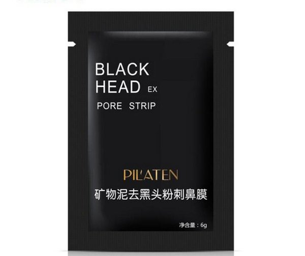 2018 hot sales PILATEN Black Mask Blackhead Remover Deep Cleansing Purifying Peel-off Mask Pore Cleanser Facial Mask Free Shipping