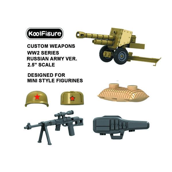 Silah Seti Minifigures Oyuncaklar için Tasarlanmış, Askeri Asker Figürleri için Guns, Yapı Tuğlaları Blokları Aksesuarları, Orta Doğu Ordusu