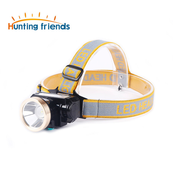 3W Mini Miners Lamp LED Headlamp Lithium Battery Cordless Miners Cap Lamp Rechargeable Headlight for Working Outdoor Activities