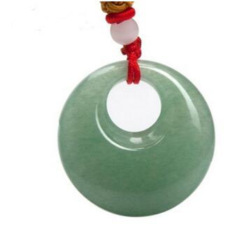Natural Dongling jade concentric donut pendants Male and female models jade> > free shipping and hot pendant jade pendant necklace pendants