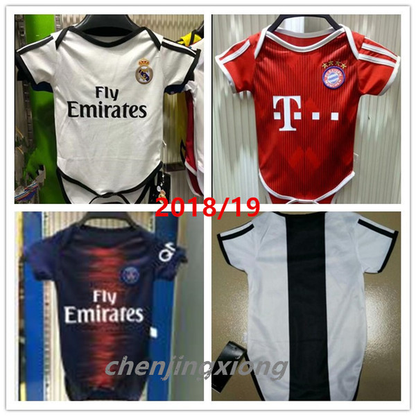 info for ab649 e6a1d 2019 Real Madrid Baby Soccer Jerseys 2018 2019 Club 6 18 Months Short  Sleeves Baby Soccer Jersey Messi DYBALA MULLER MBAPPE Baby Football Shirt  From ...
