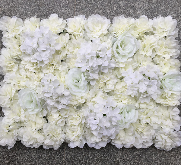 Cérémonie De Mariage Fleur Artificielle Mur Faux Stade Fond Rose Blub Tapis Simulation Fleurs Soie Boutique Fenêtre Décoration 35 qd jj