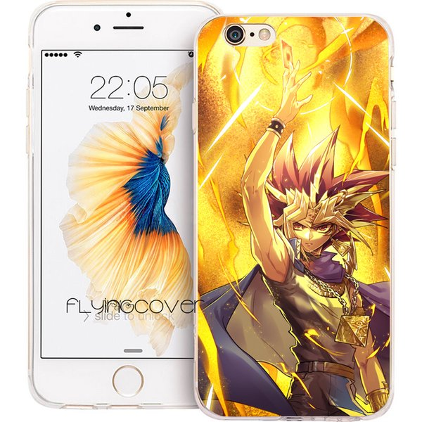 Fundas yu gi oh yugioh Shell Cases for iPhone 10 X 7 8 Plus 5S 5 SE 6 6S Plus 5C 4S 4 iPod Touch 6 5 Clear Soft TPU Silicone Cover.