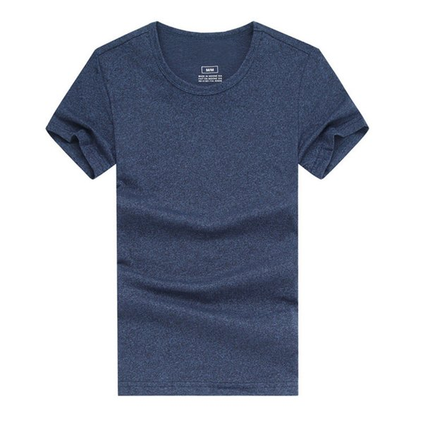 Casual Designer Shirt Mens T-Shirts 14Color Size M-XXL Cotton Blend Short Sleeve Crew Neck Embroidery Anti-Wrinkle Leisure Fashion T-shirt