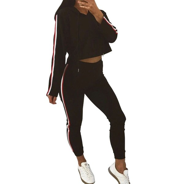 2017 Autumn 2 Piece Clothing Set Women Tops And Pants Suit Ladies Leisure Two Piece Tracksuit