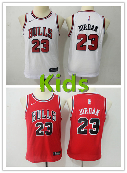 newest 6360e 60dd2 2018 2019 New Youth 23 Michael MJ Chicago Bulls Kids Basketball Jersey  Stitched Embroidery Mesh Dense AU Bulls Michael MJ Boys Basketball Jersey  From ...