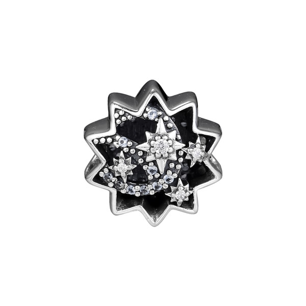 2018 Autumn 925 Sterling Silver Jewelry When You Wish Upon A Star Charm Beads Fits Bracelets Necklace For Women Jewelry Making