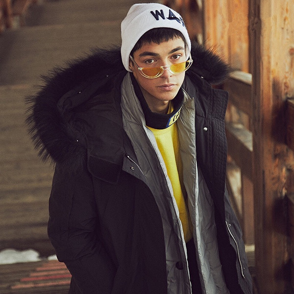 ZK30 Cat Eye Sonnenbrille Frauen Coole Trendy Halbrahmen Randlose Modemarke Designer Sonnenbrille Männer UV400