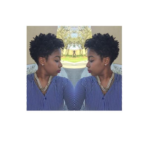 hochwertige schwarze Farbe kurze verworrene lockige Perücken brasilianisches Haar Simulation Menschliches Haar kurze lockige Perücke für Frauen