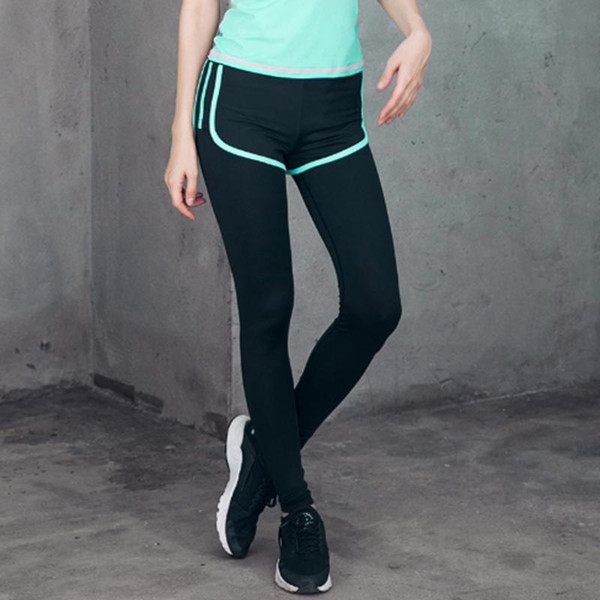 Silanda Sports Women Breathable Quick Dry Running Jogging Yoga Pants Female Elastic Gym Workout Fitness Slim Leggings Free Shipping