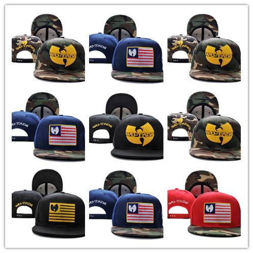 Ücretsiz Nakliye Yeni Gelenler Wu Tang camo ABD bayrağı Erkek kemikleri swag Gorra Beyzbol Ayarlanabilir Ayarlanabilir Gorras Snapback Şapkalar Için yetişkin