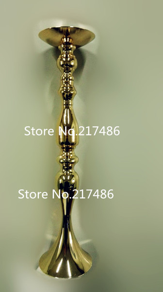 high New item !gold/sliver wedding floor walkway stands/tall and large flower vase for wedding table centerpieces