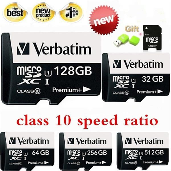 New High Speed Memory Card Class Micro SD Card SDHC UHS I Class 10 Memory  Card Flash TF + SD Adapter + SD Reader Best Cloud Hard Drive Best External