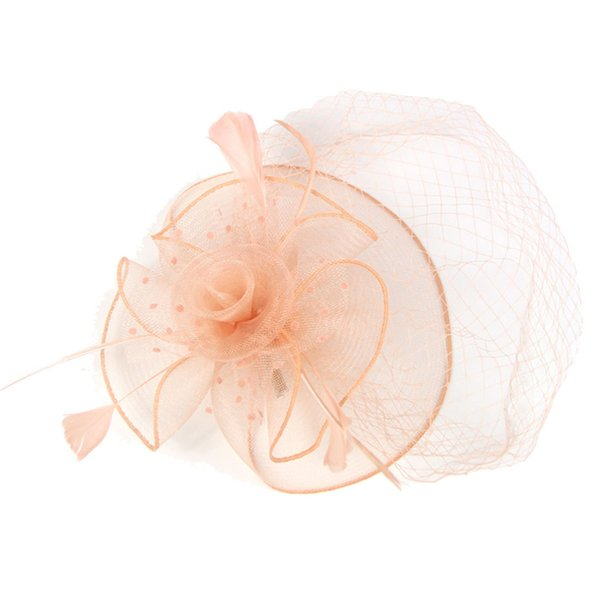 Headdress Europe and the United States, European and American boutique runway show net gauze bridal headdress hair decoration fashion net ga