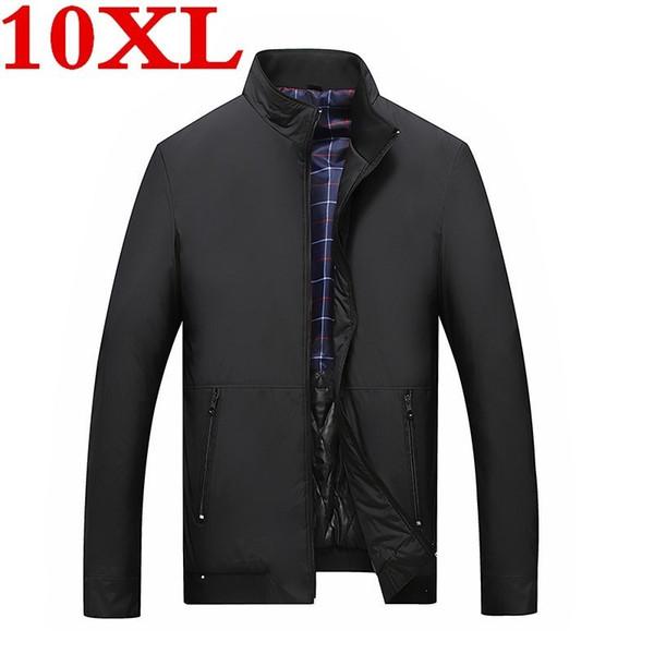 new Mens Green Khaki 3 colors jacket winter Cargo Plus size 5XL 6XL 8XL 9XL 10XL Casual man Jackets Army clothes brand