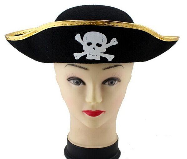 New Pirate Hat For Kids Men Women Girls Caribbean Hats Fancy Dress Hat Caps  Party Christmas e2c8f7d80e3