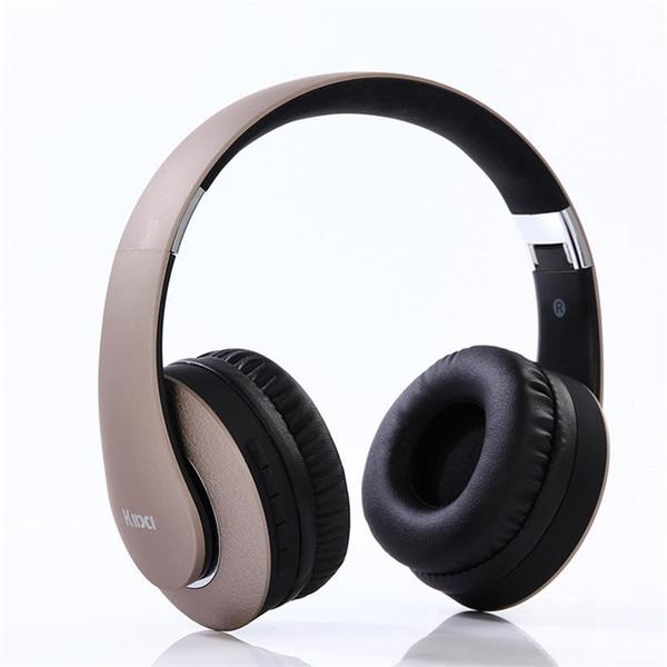 Bluetooth Kopfhörer Wireless Hallo-Fi Stereo Wireless Headset FM Radio unterstützt Faltbare Soft Memory-Protein Ohrenschützer 4,0 Kopfhörer über Ohr