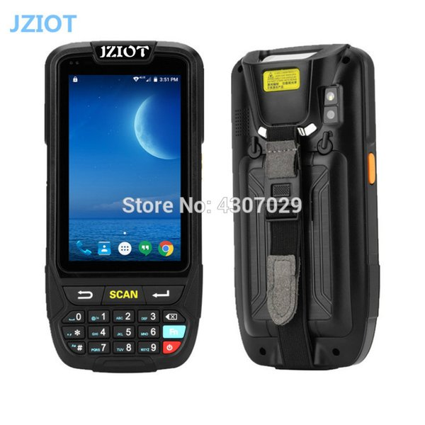 Industrial PDA Handheld Terminal with 4 inch Touch Screen 2D Laser Barcode Scanner IP65 Waterproof