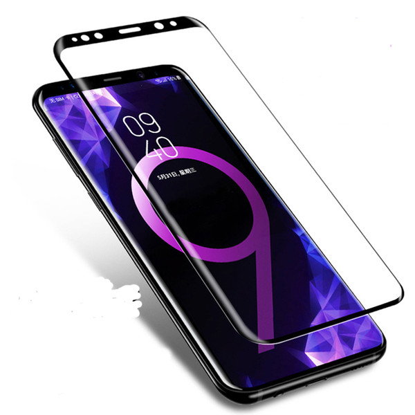 3D For Samsung Note 9 Glass Tempered Glass For Samsung Galaxy Note9 Full Cover Explosion-proof Screen Protector Protection Glass Oppbag