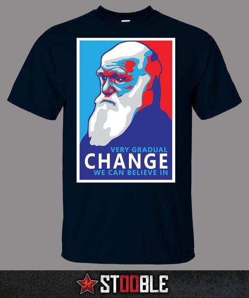 Darwin Change T-Shirt - Direkt von Stockist Funny versandkostenfrei Unisex Casual Tshirt Geschenk