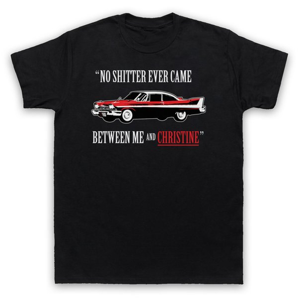 PLYMOUTH FURY CHRISTINE STEPHEN KING T-SHIRT UNOFFICIAL MENS LADIES & KIDS SIZESFunny free shipping Unisex Casual
