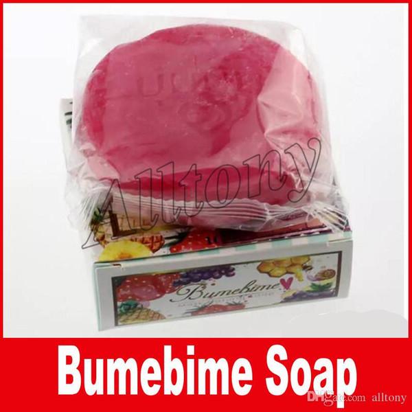Bumebime Handwork cara limpieza corporal hidratante Jabón con Frutas Esencial Máscara Natural BUMIBIME Jabón de Aceite Brillante envío gratis