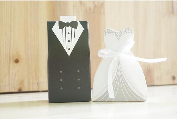 Free Shipping+New Arrival bride and groom box wedding boxes favour boxes wedding favors,500pairs=1000pcs/lot