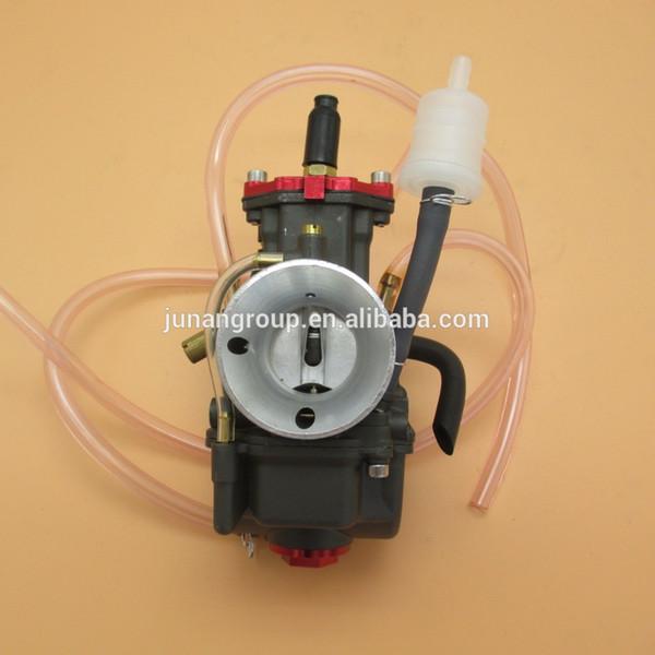 Carburador PWK28 Motorcycle Power Jet Deslizador plano Carb GY6 RS CG 150-200cc