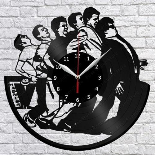 Madness Vinyl Record Wall Clock Fan Art Home Decor Handmade Art Personality Gift (Size: 12 inches, Color: Black)