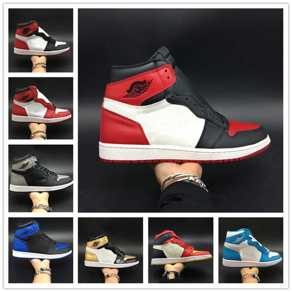 ae2ff0857 Atacado Toe Basquete 1 OG Sapatos Da Marca de Sapatos de Basquete Mens Moda  2.0 Calçados