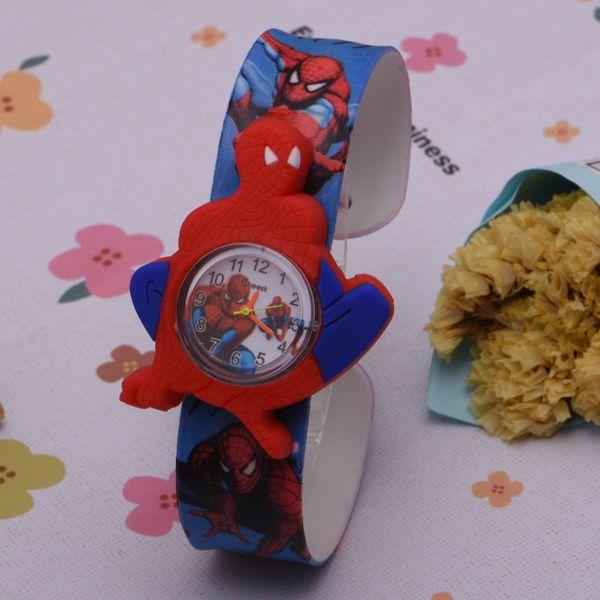 3D Animal Cartoon enfant montre fille garçon étudiant Montres Mode Casual montre électronique spider-man Gift Watch