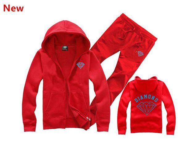 Fornecimento de diamante co homens moletom com capuz mulheres rua velo camisola quente inverno outono moda hip hop pulôver primitivo L08