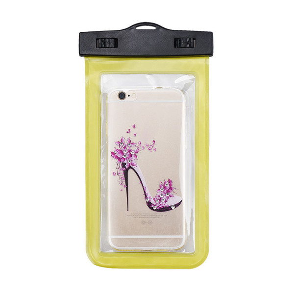 For Samsung s7 edge waterproof bag Waterproof Case Bag PVC Protective Universal Phone Case bag swimming hot spring cellphone pouch