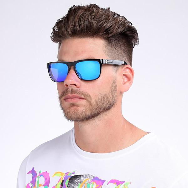 SARA Marca Clásico Multicolor Gafas de sol de los hombres polarizados de conducción de moda gafas de sol de moda masculina Oculos Gafas Square Eyewear CE