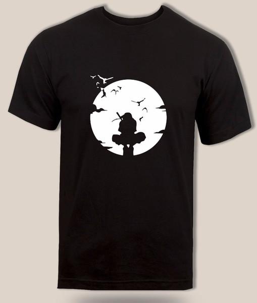 Uchiha Itachi tişört Gizli yaprak köyü Anbu Siyah Ops Naruto Anime Yetişkin Çocuklar