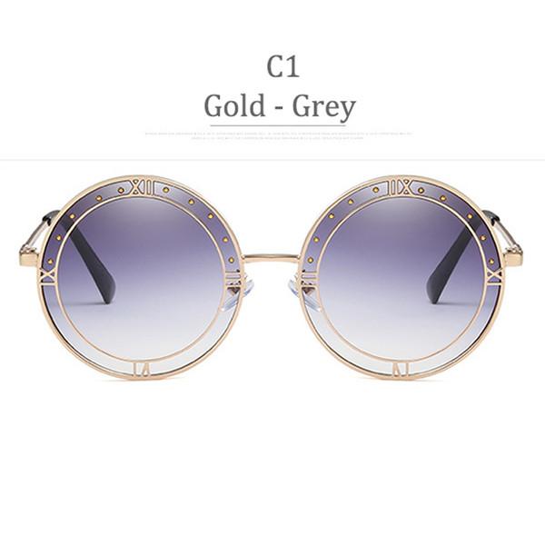C1 Grado grigio in oro