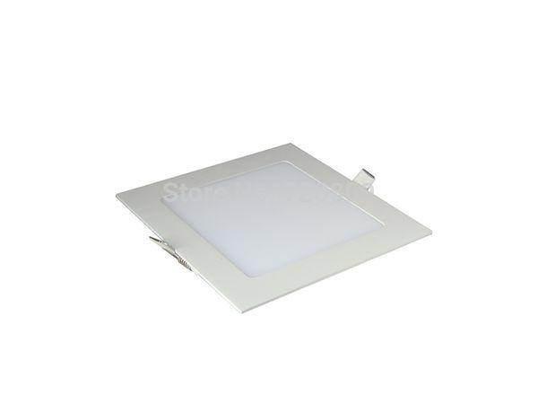 10pcs/lot Free Shipping 15W Square LED Panel Light Ceiling Fixture Light Pure/Warm white AC110-240v